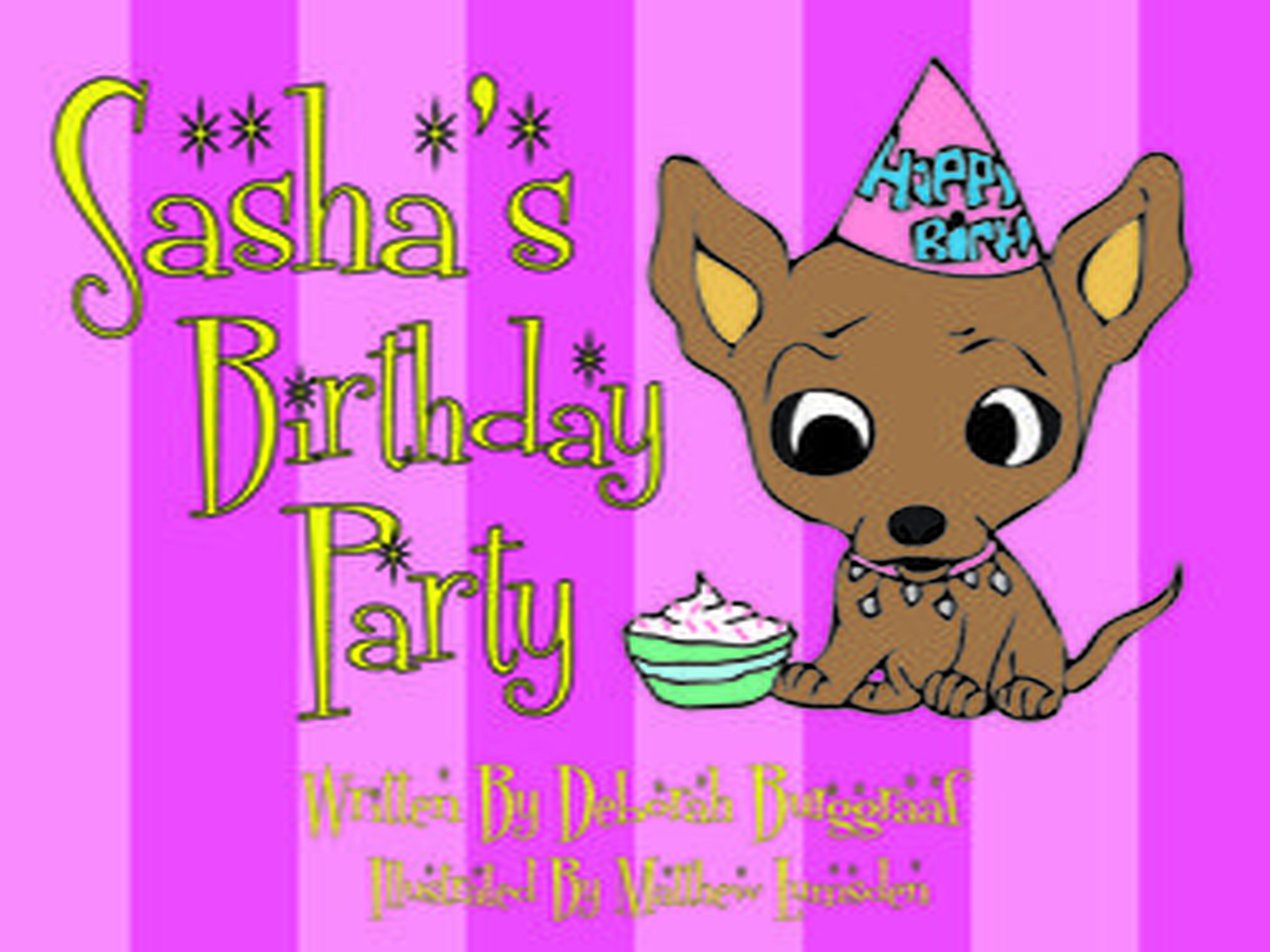 Deborah Burggraaf Author Sashas Birthday Party FAQs